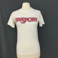 Vintage Jansport T Shirt Mountain Garments 70s Single Stitch Ringer Size Small