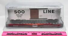 Menards Weathered SOO Line O Gauge Die-Cast Boxcar