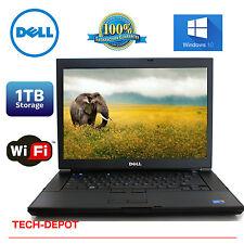 """Dell Latitude E6400 Laptop PC Core 2 Duo 4GB RAM 1TB HD WINDOWS 10 LCD 14"""" FAST"""