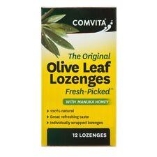 Comvita Olive Leaf Oral Drops with Manuka Honey - 12 Lozenges