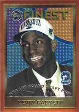 1995 Topps Finest Kevin Garnett Rookie