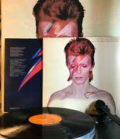 David Bowie Aladdin Sane RCA 1973 10 Tracks EX Lyric Slv Uk 1st Canada EX