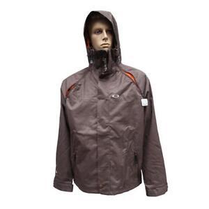 Oakley Rocco Lite Snow Jacket Mens Size XL Brown Snow Snowboarding Ski Mountain