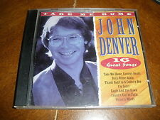 Take Me Home: 16 Great Songs by John Denver (CD, Apr-1996, Country Stars)
