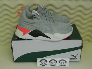 Puma RS-X Reinvention - 372780-02 - Grey / Black / Red - Women's Shoe Size 7