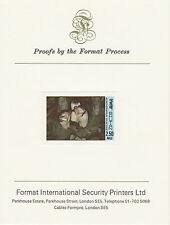 Bután 2610 - 1985 2.5nu en el formato sin publicar Orquídea tarjeta de prueba internacional