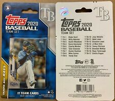 2020 Topps Tampa Bay Rays 17 Card Team Set Snell Renfroe Choi Adames Diaz Zunino