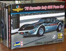 Revell Monogram 1978 Chevrolet Corvette Indy 500 Pace Car Model Kit 1/24