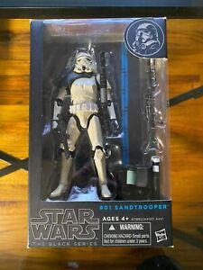 Star Wars Black Series Sandtrooper #01 Blue Line Action Figure