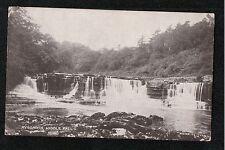 L@@K  Aysgarth Middle Falls 1920's? Postcard Yorkshire ~ Waterfall ~ SUPER IMAGE