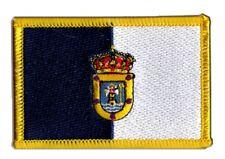 Spanien La Palma Aufnäher Flaggen Fahnen Patch Aufbügler 8x6cm