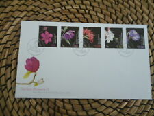 New Zealand fdc 2004 Garden Flowers 11  full set of stamps
