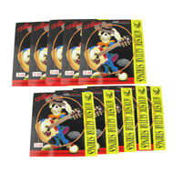 """New 10pcs Alice Acoustic Guitar G Strings 3rd Strings Coated Copper Alloy .024"""""""