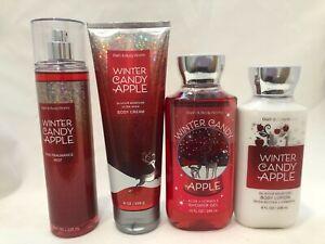 Bath & Body Works WINTER CANDY APPLE Mist Lotion Cream Shower Gel You Choose One