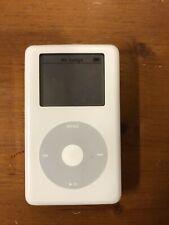 Apple iPod Classic White A1059 4th Generation 40Gb Headphone Jack