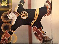 Philadelphia Flyers Vs Boston Bruins GOAL Game Program;  10/17/74;  Gil Gilbert
