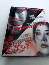 "DVD ""SYMPATHY FOR MR VENGEANCE / LADY VENGEANCE"" 3DVD PARK CHAN-WOOK DIGIPACK"