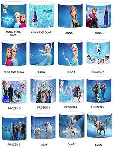 Disney Frozen Elsa Childrens Lampshades Ceiling Light Table Bedding Curtains