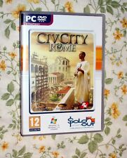 CIV CITY ROME PC GAME GREAT ROMAN CITY BUILDING GAME!!