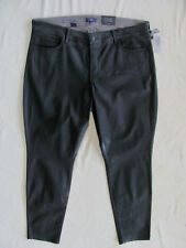 NYDJ Not Your Daughter's Jeans Alina Skinny Jean/Legging-Black-Sze 18W-NWT $168