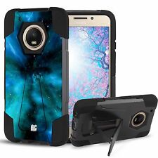 Rugged Shockproof Case w/Stand Cover for Motorola Moto G5 Plus XT1685 XT1687