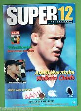 #EE. WARATAHS V WAIKATO CHIEFS  RUGBY UNION PROGRAM  8/3/1997, SUPER 12