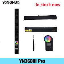 YONGNUO YN360III Pro LED Video RGB Light Handheld Stick 3200K-5600K Remote APP