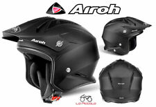 TRRS11 CASCO ON ROAD AIROH TRR S COLOR NERO OPACO MIS.XL 61-62