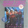 Star Trek: The Next Generation TV Series 1996 Wall Calendar, OPENED NEAR MINT
