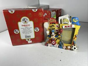 "Goofy Scoreboard Photo Frame # 596841 Enesco Corp. Disney About 6x6"" With Box"
