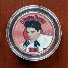 United States - Elvis Presley Music, I Gotta Know 1960 - Quarter Coin