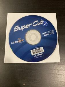 2009 HobbyZone Super Cub LP Learn To Fly Video DVD HBZ7316 Instructional Resourc