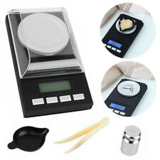 US Pocket 50g 0.001g Milligram Digital Scale Jewelry Gold Herb Weighing Scale