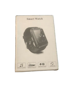 Smartwatch Wireless - Black With Black Band For Kids