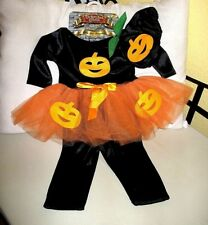 Halloween Baby Girl Pumpkin Kürbis Kostüm Baby 6 - 9 Monate