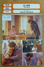 US/Swedish Movie The Touch Ingmar Bergman Max von Sydow French Film Trade Card