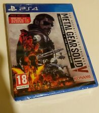 Metal Gear Solid V The Definitive Edition PS4 New Sealed UK PAL PlayStation 4 5