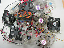 4x 120mm Cooling Fans USED - All tested OK - Pulled from working systems LOT#3