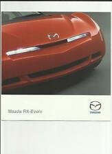 MAZDA RX-EVOLV (PROTOTYPE) SALES BROCHURE APRIL 2000