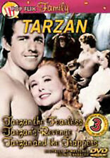 TARZAN    DVD   3 Films on one disc   LIKE NEW