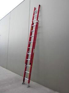 Fibreglass Extension Step Ladder 3.8M / 6.5M  150KG