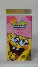 SPONGEBOB SQUAREPANTS NICKELODEON GIRLS 3.4/3.3 OZ EAU DE TOILETTE EDT SPRAY NIB