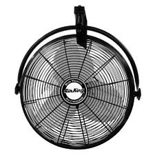 20 Wall Mount Fan Oscillating Quiet Home Outdoor Shop Office 3 Cooling Speeds