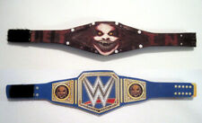 2 PACK The Fiend Limited Edition Custom Titles WWE Figure Belt for FIGURES
