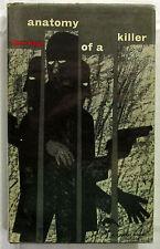 Anatomy of a Killer Peter Rabe 1st Ed HCDJ 1960 Crime/Mystery Novel  SCARCE