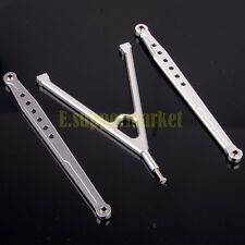 ALLOY Lower Front Suspension Links & Tree AX80043 For AXIAL SCX10 SCX052 SILVER