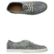 New Reef Mens Deckhand 2 TX Grey Heather lace-up Shoes Size 9 US