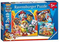 Ravensburger PAW PATROL 3 X 49PC JIGSAW PUZZLES Toys Games BN