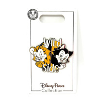 Disney Parks Figaro Cat Wild Side Pin Noc