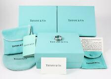 Anello Tiffany & Co Argento Collezione Atlas 1995 Size 14/15